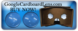 Google Cardboard VR Kit Lens Pair